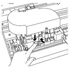 Remplacer le cutter sur Epson Stylus Pro