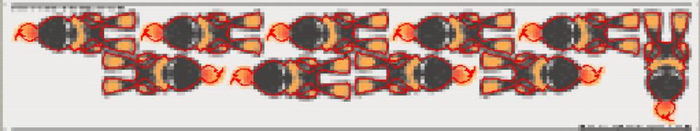 Impression-découpe-imbrication contournesting