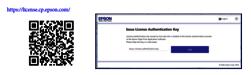 Enregistrer votre licence Epson Edge Print