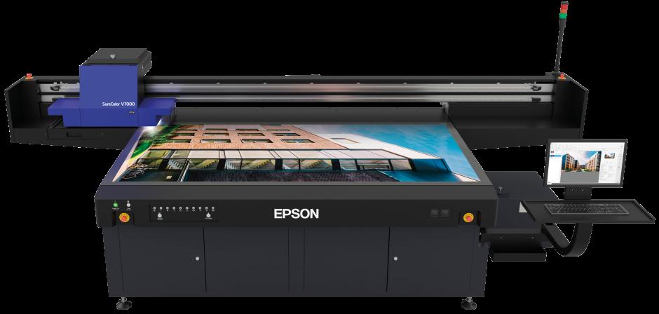 Epson SureColor SC-V7000 - Table à plat UV Led Epson