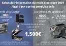 Offre Sefa exclusive salon de l'impression  Pixel Tech